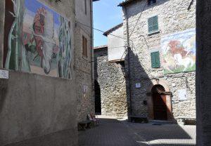 Mugnano perugia muri dipinti