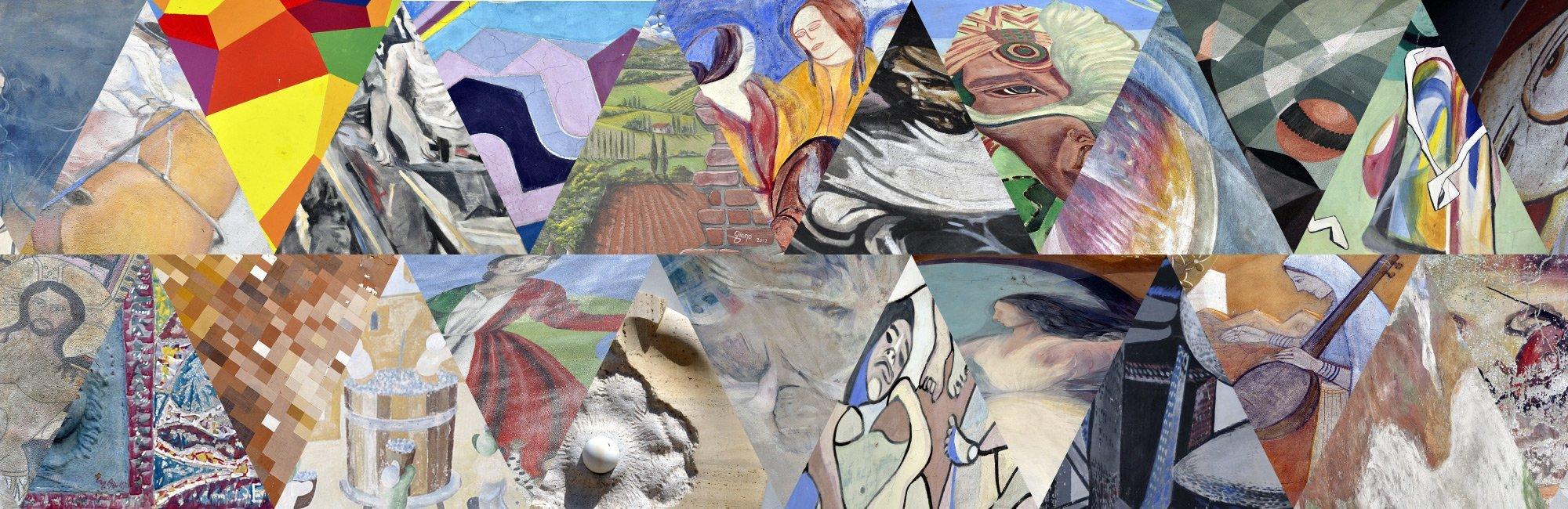 Mugnano – il paese dei muri dipinti, un luogo unico – Borghi belli dell'Umbria