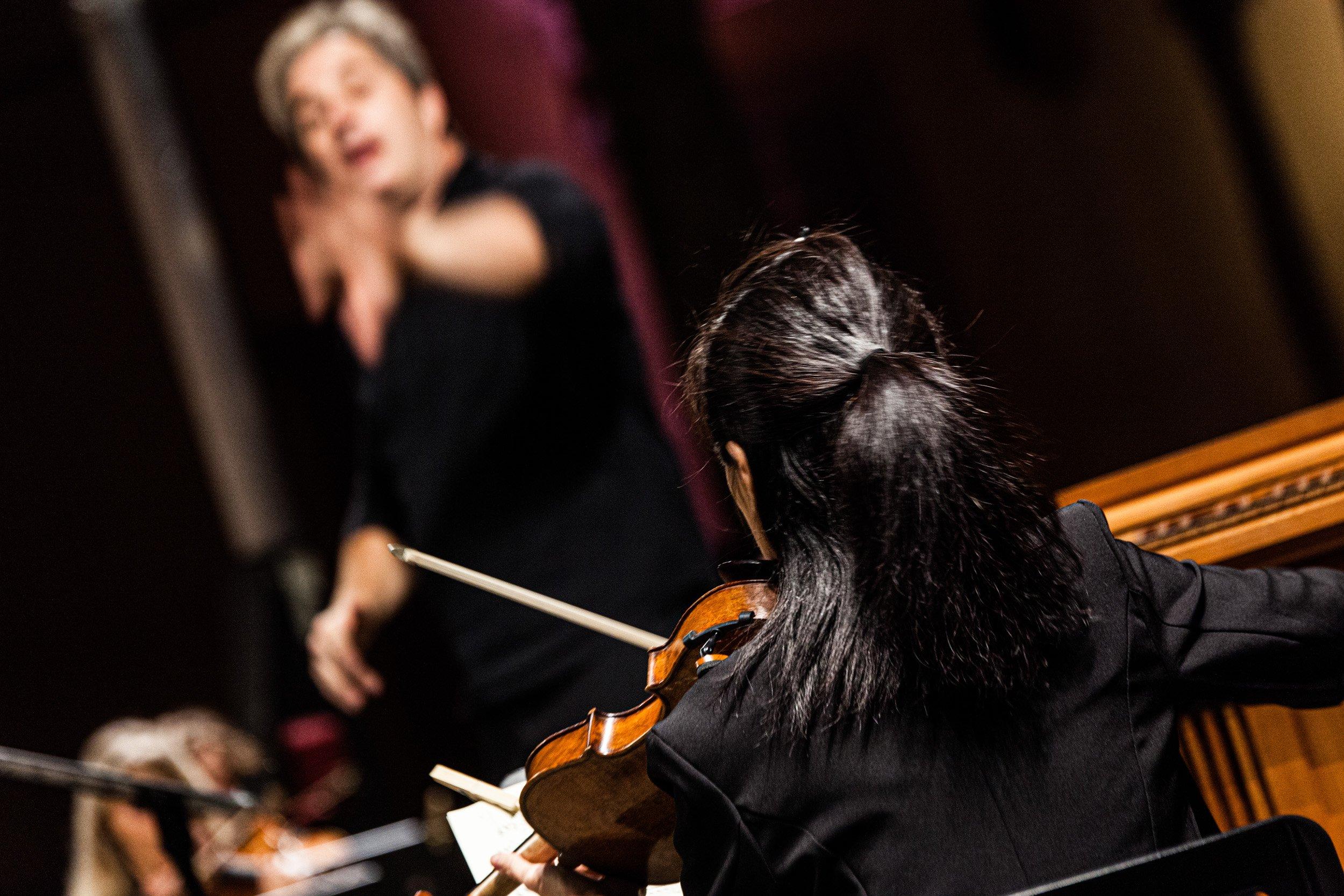 violinista Sagra Musicale Umbra