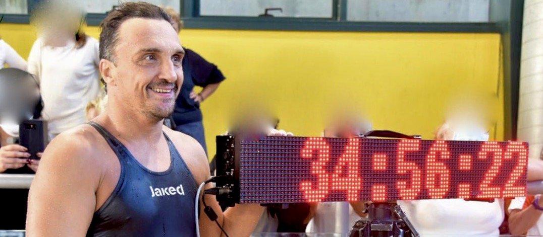 Record Marco Fratini_100KM