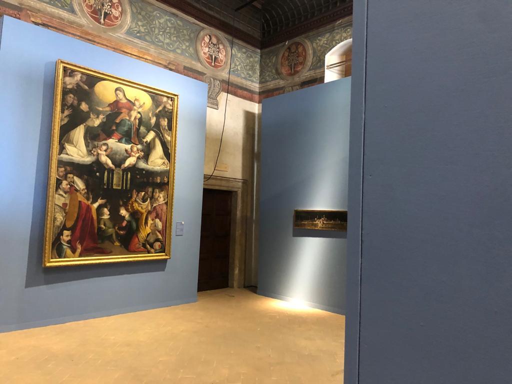 madonna di foligno a palazzo trinci - novembre 2020 - real umbria