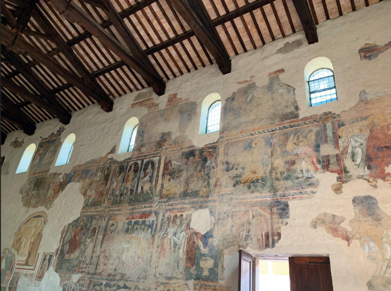Una perla preziosa nella Valnerina: l'abbazia di San Pietro in Valle.