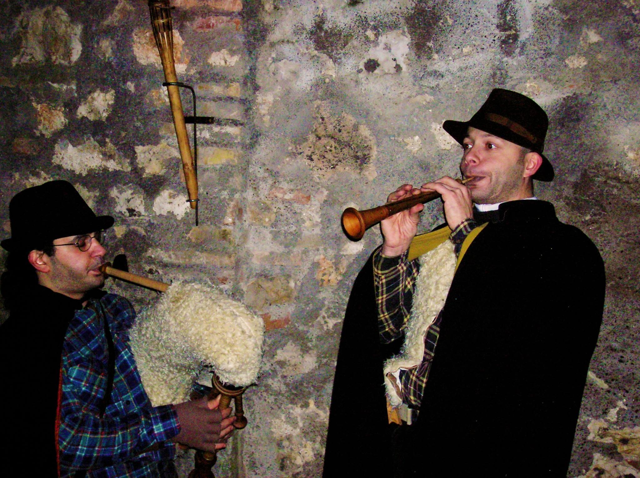 La musica e la tradizione: il giro questuante degli zampognari in Umbria