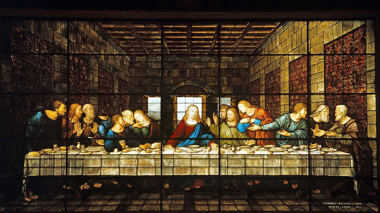 Ultima cena di Leonardo da Vinci - laboratorio moretti-caselli