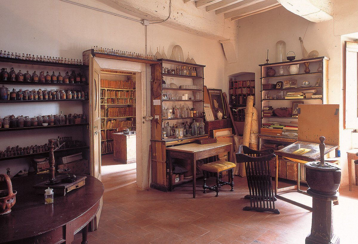 Sala dei colori - laboratorio Moretti-caselli