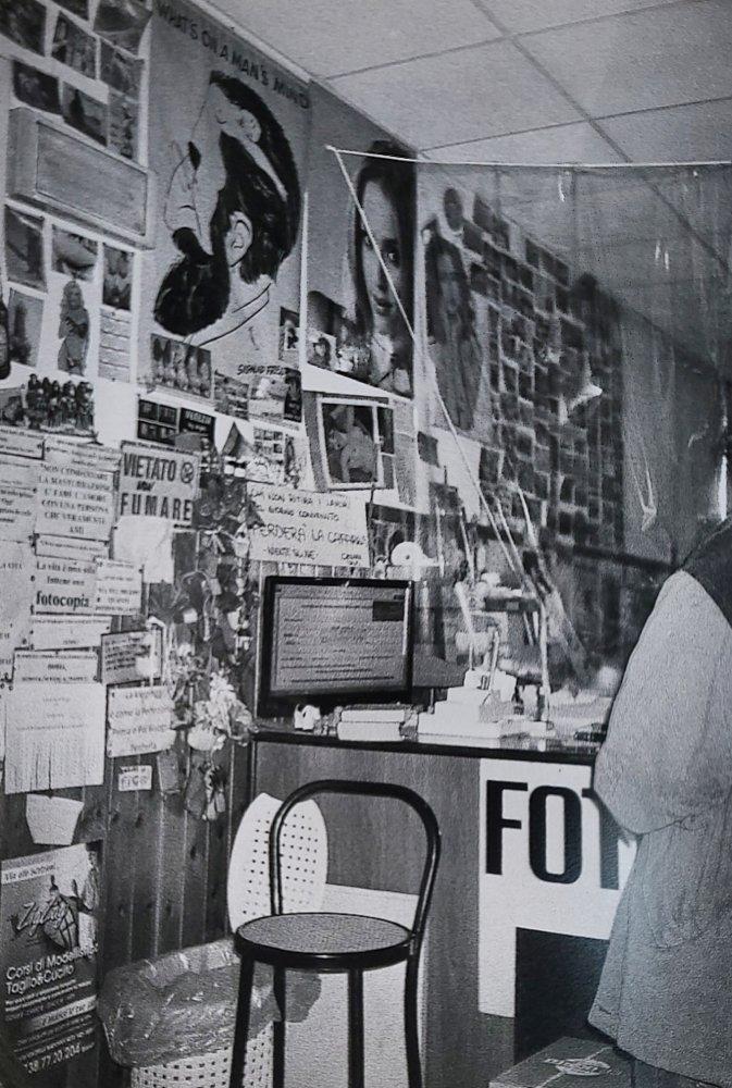 Mentre si aspetta la stampa dell'autocertificazione. Corso Cavour, PG.