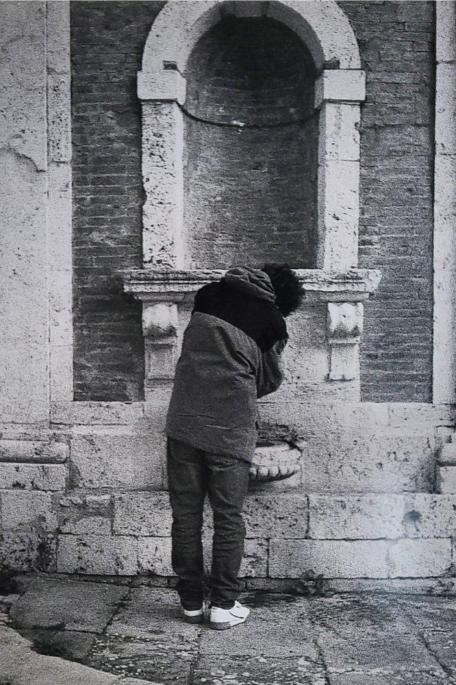 Piazzetta Giordano Bruno. Corso Cavour, PG.