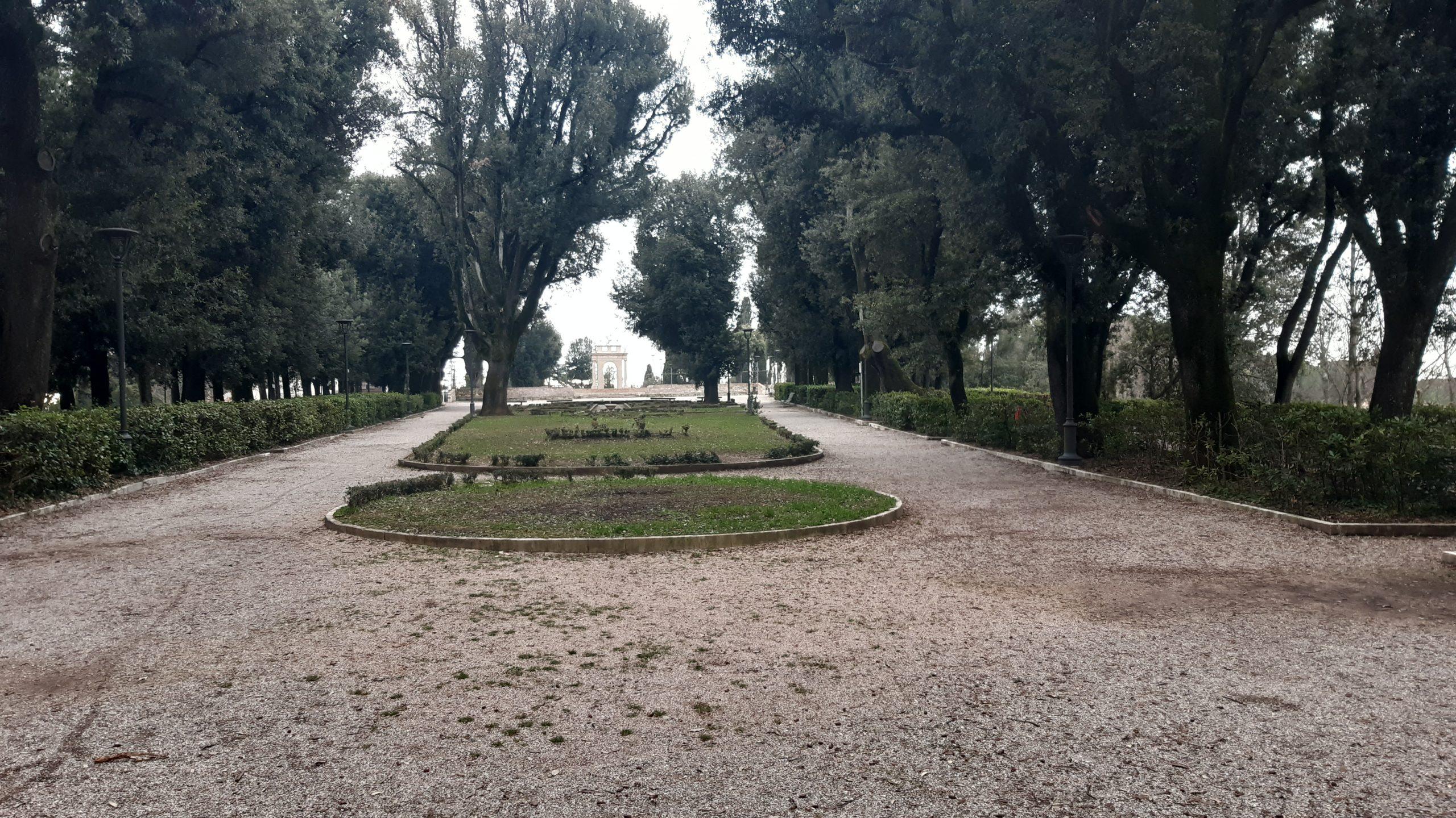 fontana giardini del frontone