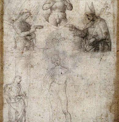 Lille, Musée des Beaux-Arts Raffaello, Studio per Incoronazione di San Nicola