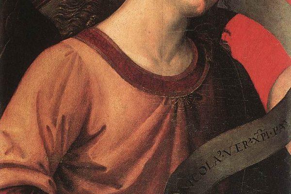 Paris, Musée National du Louvre: Evangelista da Pian di Meleto, Angelo