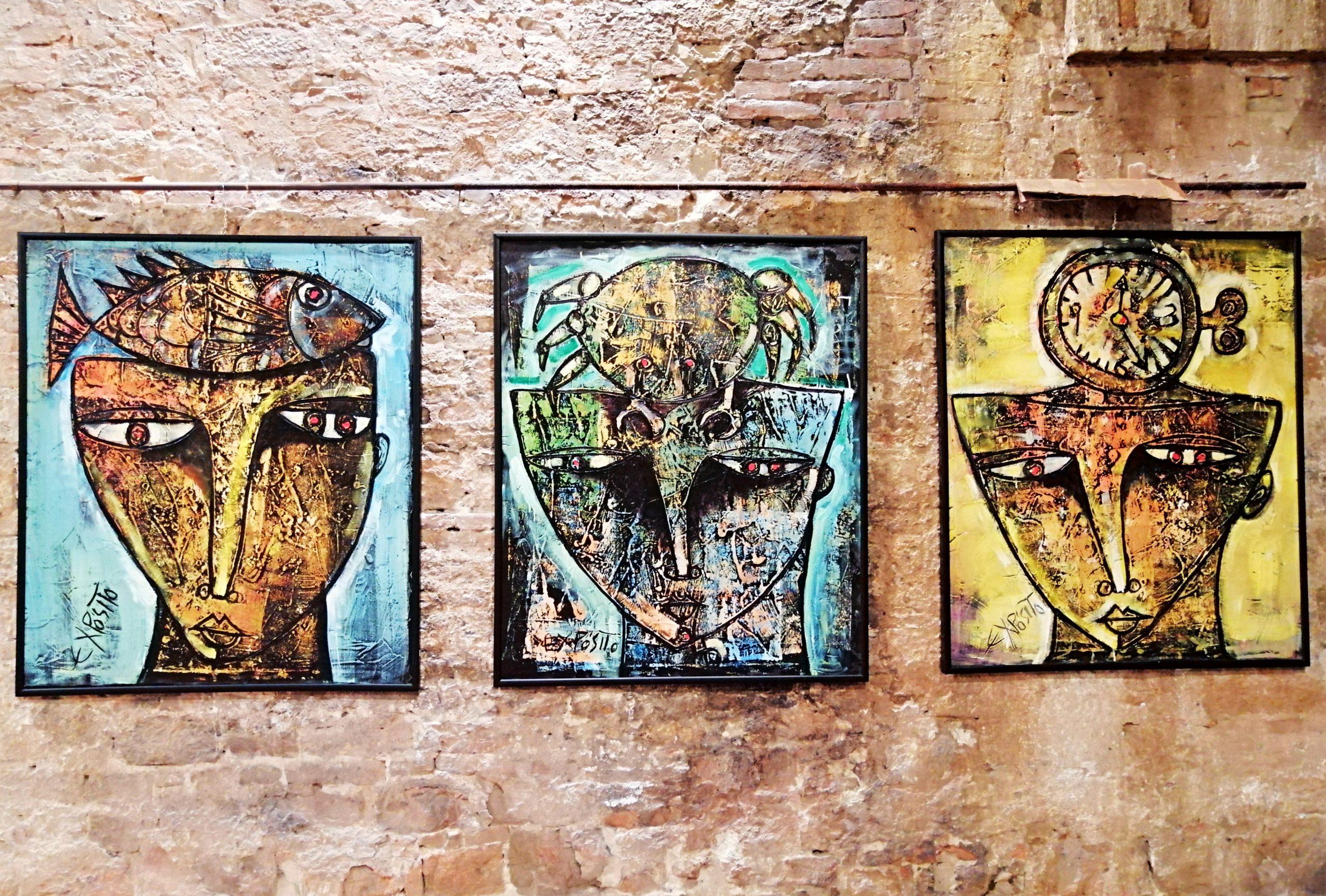 Eduardo Exposito - realumbria - arte cubana in mostra