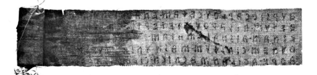 La mummia egizia avvolta nel testo sacro degli Etruschi
