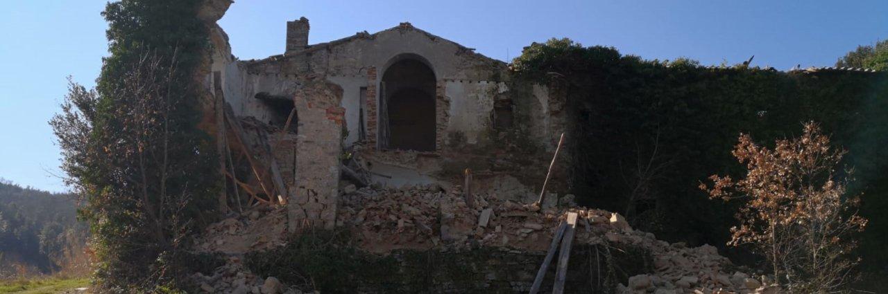 Cibottola e il suo convento francescano san Bartolomeo, ormai pericolante