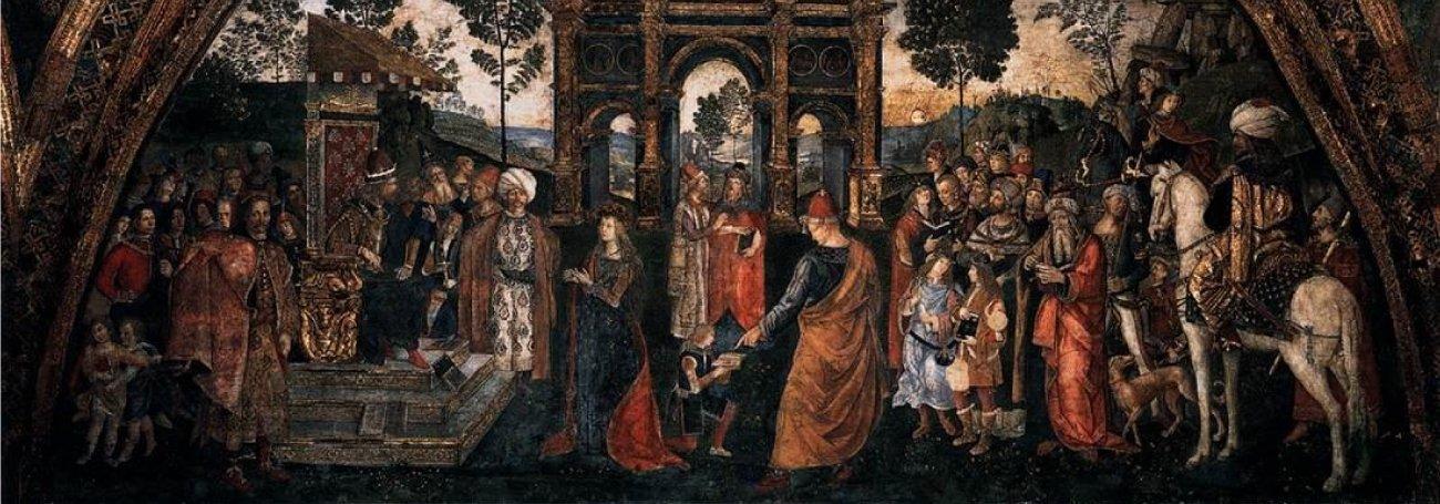 Pinturicchio, il pittore preferito dalla scandalosa famiglia Borgia