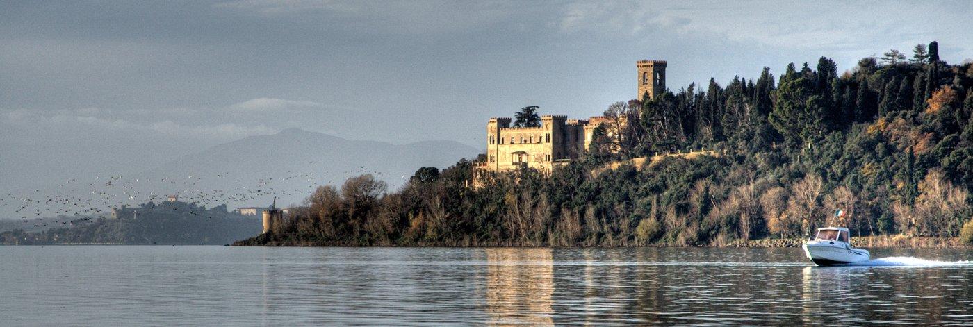 Il castello in riva al lago – Villa Isabella sull'Isola Maggiore