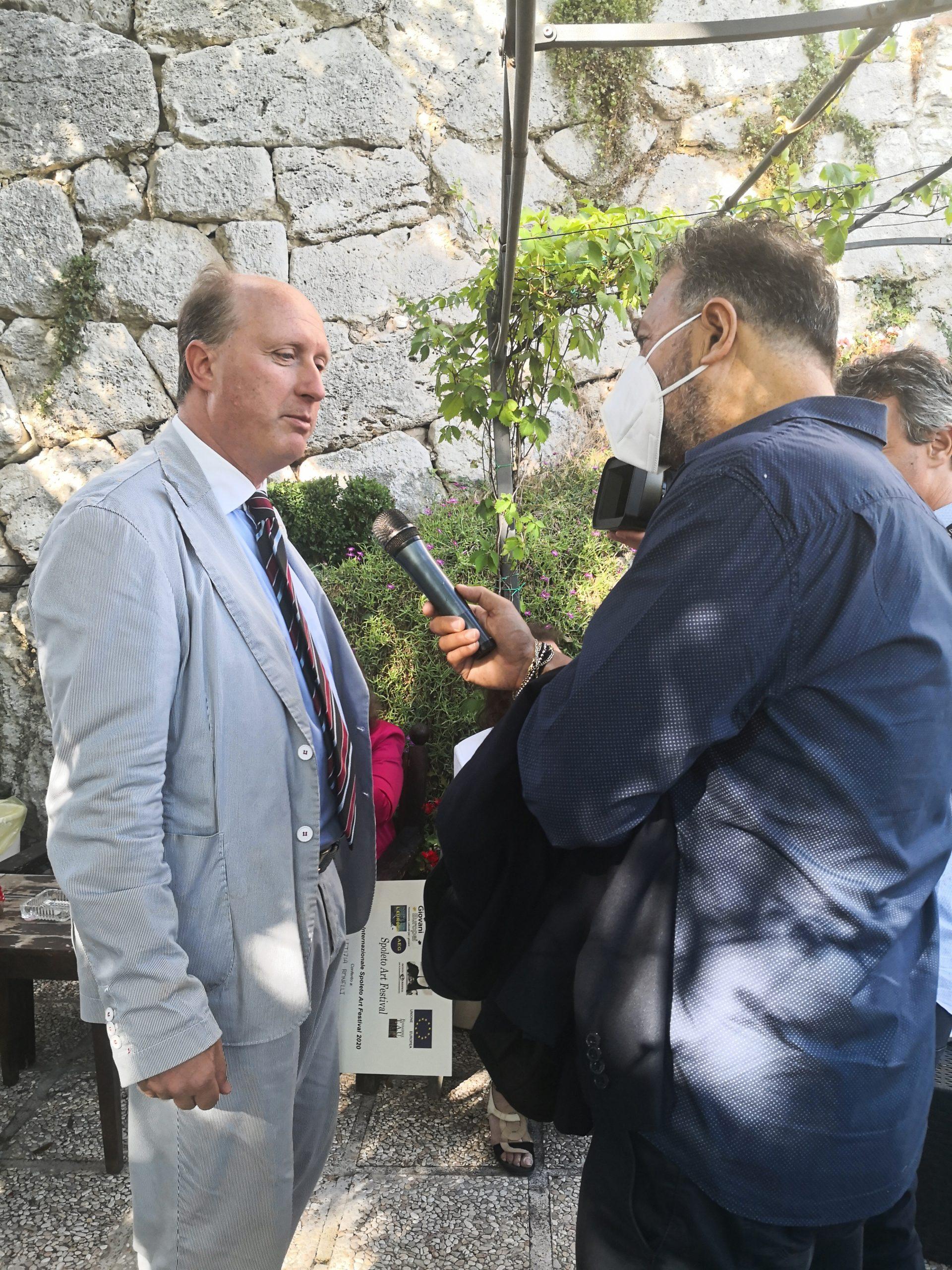 Spoleto Art festival 2021 - intervista